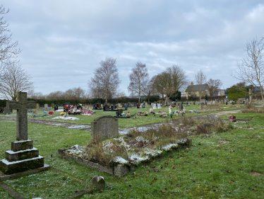 Fenny Lane Cemetery   Photograph by Kathryn Betts