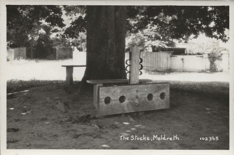 102365 The Stocks, Meldreth | Bell's postcard supplied by Mary Findlay