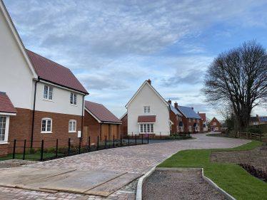 Westacre Housing Development, December 2020 | Photograph by Kathryn Betts