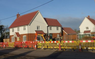 Westacre housing development off Whitecroft Road | Photograph by Robert Skeen