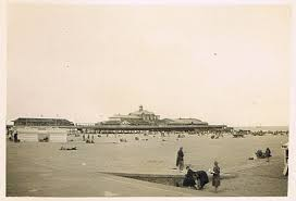 Wellington Pier and Sands, Great Yarmouth in the 1930s - the destination for the Chapel Sunday School outing | www.wikimedia