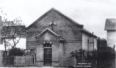 Meldreth Wesleyan Chapel, undated but taken before renovation works in 1906 | Maurice Prové