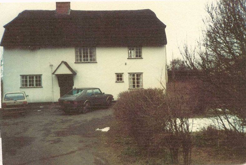Topcliffe Mill House in 1983.  | Photograph supplied by Andrew Emerson
