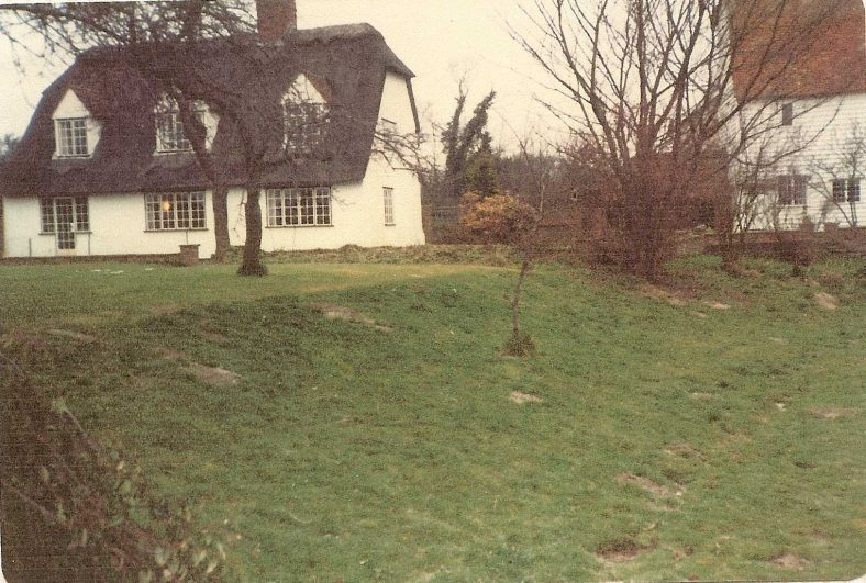 The rear (southern elevation) of Topcliffe Mill house, c. 1980  | Photograph supplied by Andrew Emerson
