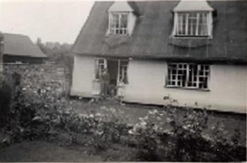 The rear of Maud Bowen's house in the 1950s | Photograph supplied by Jennie McIntosh
