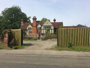The Homestead, May 2021 awaiting renovation | Joan Gane
