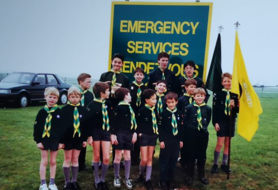 Personal Memories of Meldreth Scouts, 1982-96