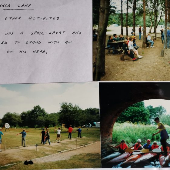 A final round up of summer camp activities | Photograph supplied by Stephen Marshall