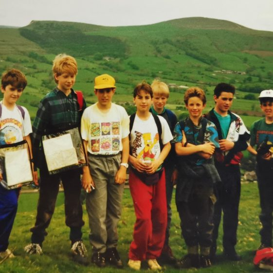 Hiking in the Peak District | Photograph supplied by Stephen Marshall