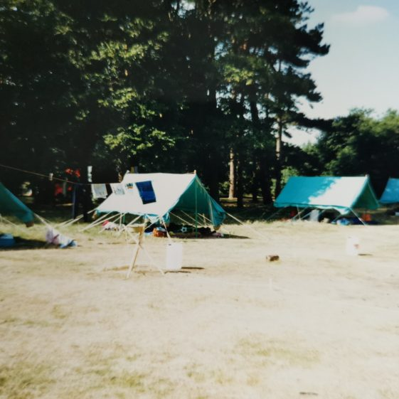 Tents airing on a sunny day | Photograph supplied by Stephen Marshall