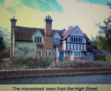 The History of The Homestead, 73 High Street | Soth Cambs District Council plans