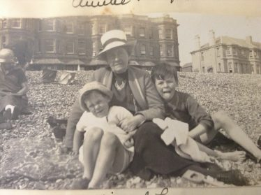 (4) Michael and John with their aunt, Fanny Maria Haswell | Photograph supplied by the Walford family