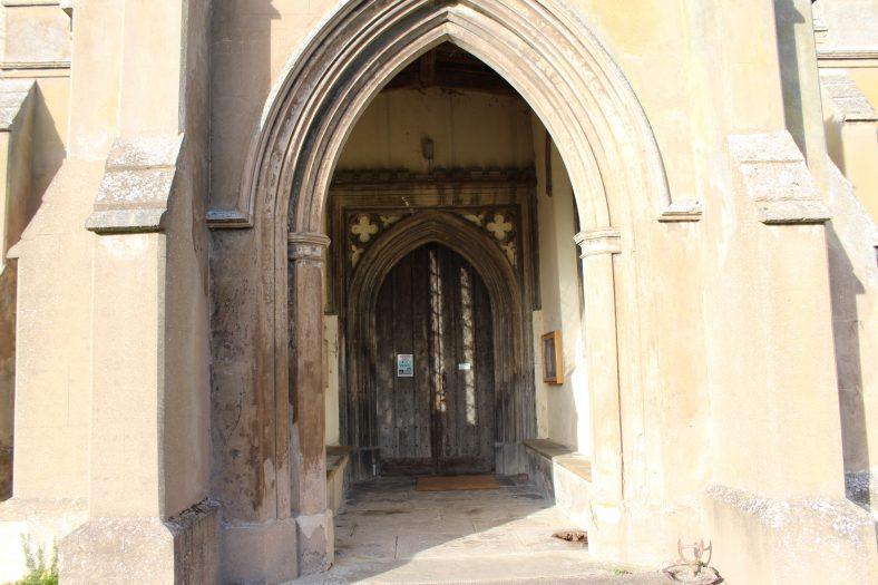 <b>North End: Holy Trinity Church Porch</b> | Francesca Churchill, 2016