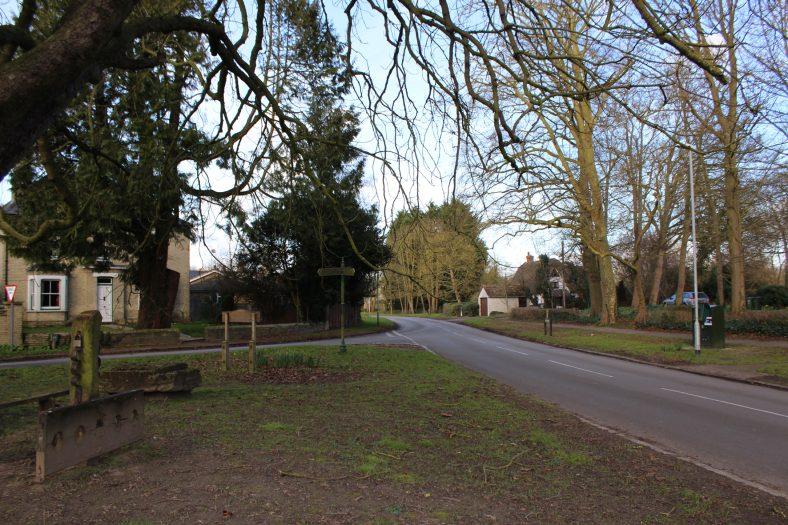 <b>Junction of High Street, Fenny Lane and North End</b> | Francesca Churchill, 2016