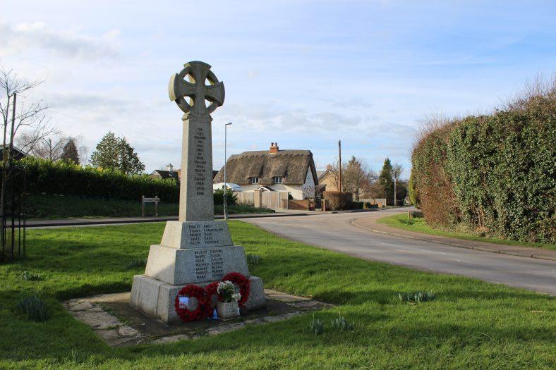 <b>Corner of High Street, Station Road and Whitecroft Road: War Memorial</b> | Francesca Churchill, 2016