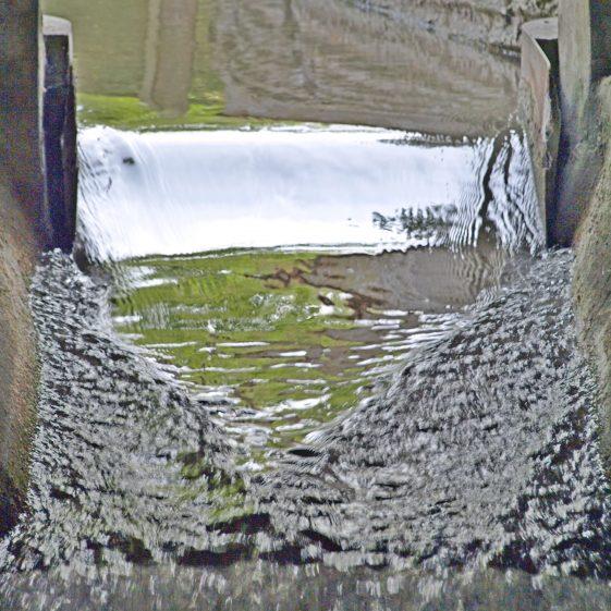 Topcliffe Mill Race - detail | Bruce Huett 2018