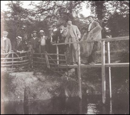 Men on bridge | Pictorial Melbourn