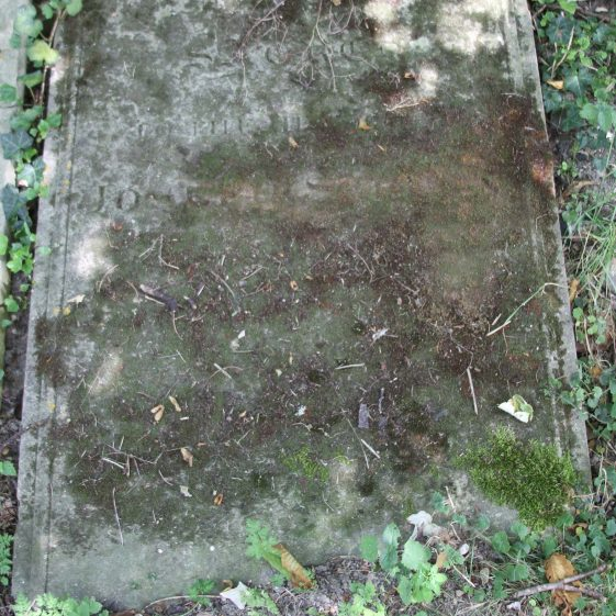 16: Sacred to the memory of /JOSEPH SCRUBY/who died August 1 1817/ Aged 87 years/ Then shall the dead return to /the earth as it was and the/Spirit shall return unto God who gave it./ | Photograph by Malcolm Woods