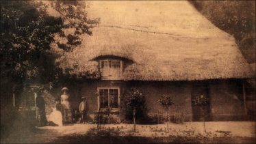 Orchard Cottage - probably 1880s | Photo supplied by Joan Gane