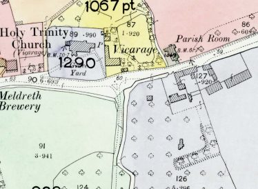 Detail from the 1910 Land Values Duties Map | Cambridgeshire Archives