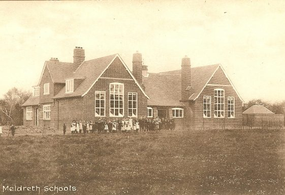 A History of Meldreth School, 1910 - 1919