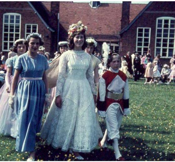 From left to right, Angela Webb, Pamela Chamberlian, Gillian Fleet, Drina Mead   Photograph courtesy of Ann Handscombe