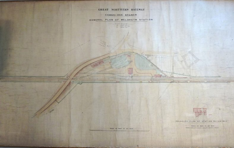 The Complete 1894 Plan of Meldreth Station and Goods Yard | Tim Gane with the permission of Greg Dash