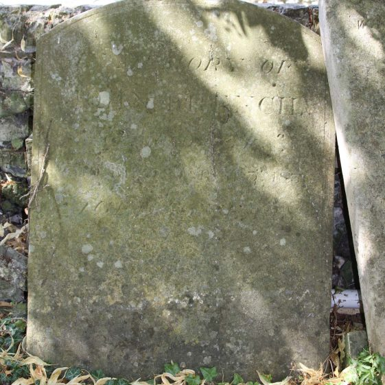 2: In memory of / JOHN FRENCH/ of Meldreth/ who died March 5th 1856/ aged 75 years. | Photograph by Malcolm Woods