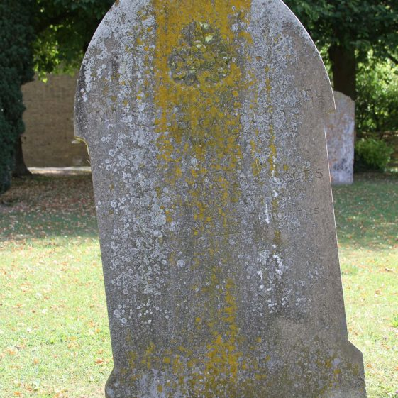 25: In Loving Memory of/ JAMES,second son of SAMUEL/and REBECCA WOODS/ who died Novr. 7th 1896/ aged 32 years./Also of MARTHA ANN WOODS/ who died Decr. 5th 1868/aged 1 year and 7 months | Photograph by Malcolm Woods