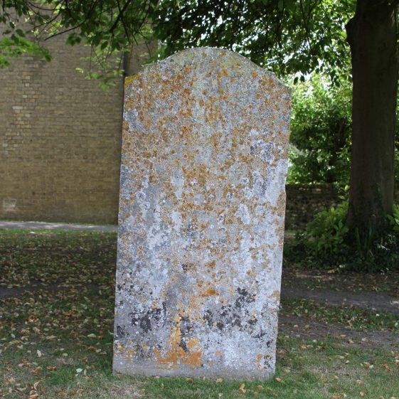 28: In Memory of / THOMAS MILLS/ who died December the XIIth 1829/aged 12 years. | Photograph by Malcolm Woods