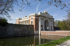 The Menin Gate Memorial, Ypres. | Commonwealth War Graves Commission