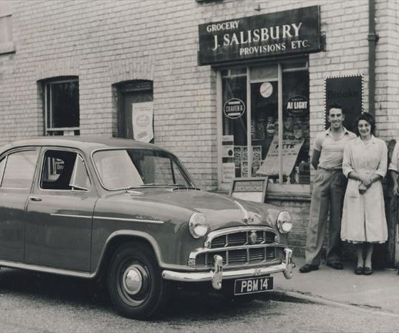 Ivan Jacklin, Enid Fost and Jack Salisbury 1959 | Photograph courtesy of Meldreth WI