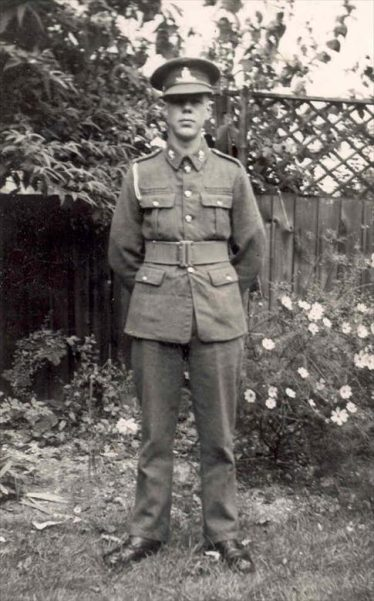 (5) Michael Walford in his WW2 uniform | Photograph supplied by John Gipson