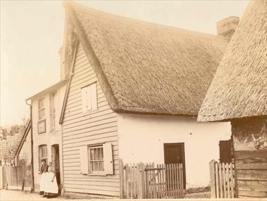 Warren's Bakehouse, c.1900 | Photograph supplied by John Gipson