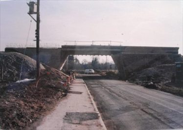 A10 bridge under construction | Meldreth WI