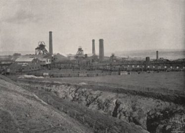 Hoyland Silkstone Collieries, Barnsley, which produced the type of coal stolen, shown in 1900 | www.amazon.co.uk