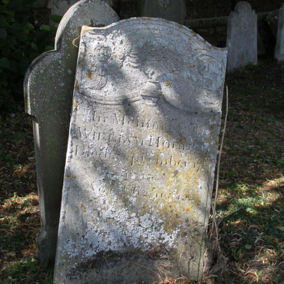 57: In Memory of/WILLIAM HOLDER died September 17/1813/ aged 62 years. | Photograph by Malcolm Woods