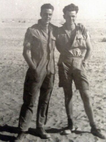 (7) John and Michael Walford during WW2 | Photograph supplied by the Walford family