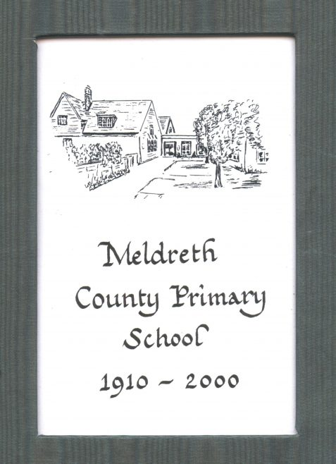 The front cover of the book produced by Meldreth Village Association   Photograph courtesy of Meldreth Primary School