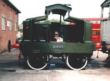 A Similar, restored, Simplex 0-4-0 Shunting Engine