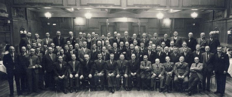Atlas 25 Year Long Service Award. Jan 1959 at a London Hotel