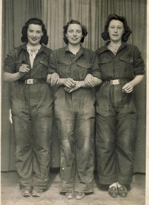 Atlas Girls 2<br> L to R Marge Cooper, Rosie Pope, Betty Douse.  What is the connection between these 3 girls? | Linda Clarke
