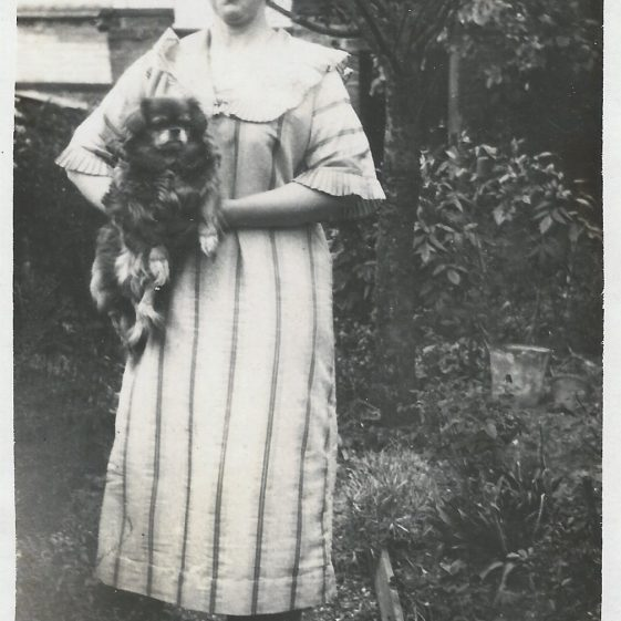Annie Adcock (nee King)? Christmas 1923 | Photograph supplied by Jane Moore (née) Findlay and Mary Findlay