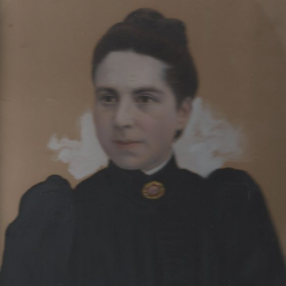 Martha Adcock, nee Hall (1837-1908) | Photograph supplied by Jane Moore (née) Findlay
