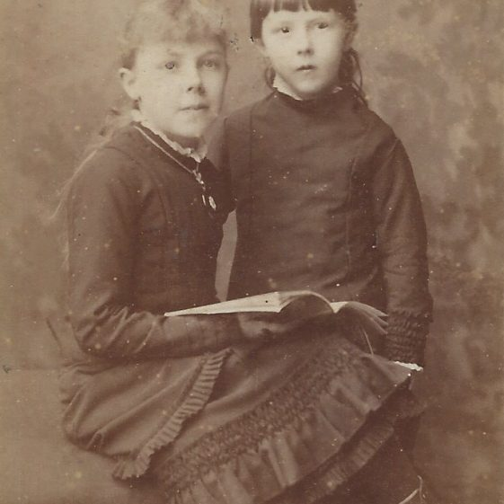 Possibly Lilian Adcock on the left | Photograph supplied by Jane Moore (née) Findlay
