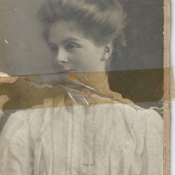 Possibly Margaret | Photograph supplied by Jane Moore (née) Findlay