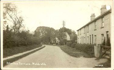 Allerton Terrace | Bell's Postcard, 1920s
