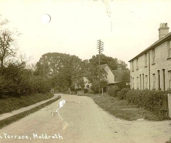 Allerton Terrace, High Street, Meldreth. c.1930 | Photo supplied by Ann Handscombe