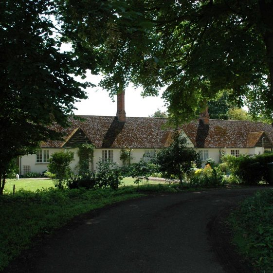 The Emilie Agnes Elin Almshouses, pictured in June 2009 | Photograph by Kathryn Betts