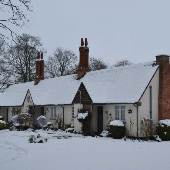 The Emilie Agnes Elin Almshouses, pictured in December 2010 | Photograph by Kathryn Betts